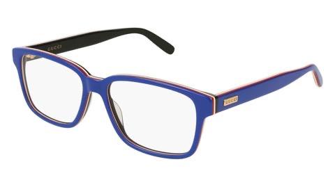 Gucci blue eyeglasses, Classic Blue Pantone 2020