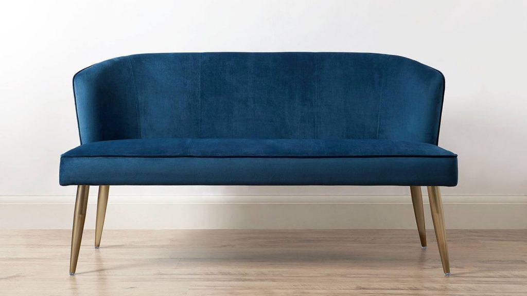 MELLOW VELVET 3 SEATER, Classic Blue Pantone 2020